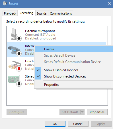 Resolving Microphone Problems (Windows 10) – PALCS HelpDesk